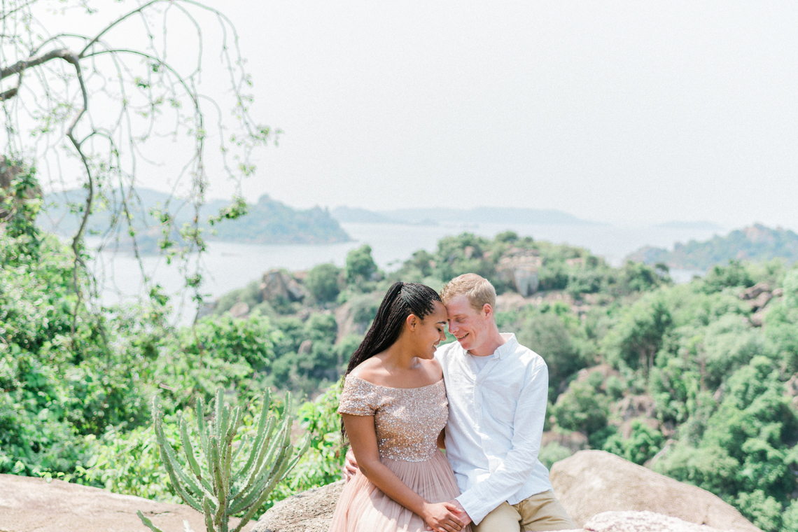 Engagement shoot destination wedding